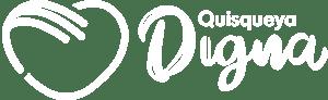 Logo Quisqueya Digna en Blanco